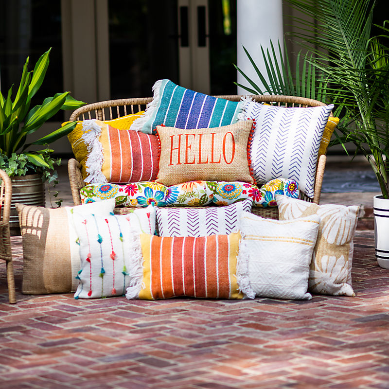 Outdoor Pillows 20% Off with code
