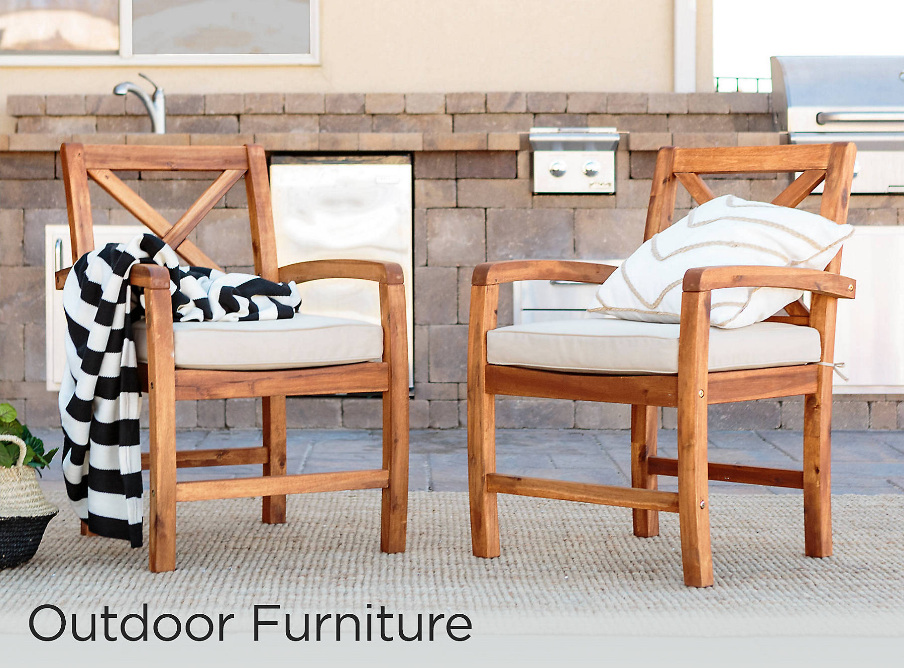 Outdoor Furniture 30% Off Excluded from coupon