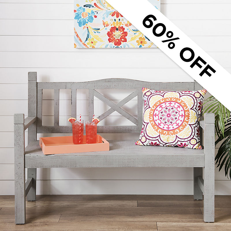 60% Off - Farmhouse Bench Was $249.99 - Now $99.9