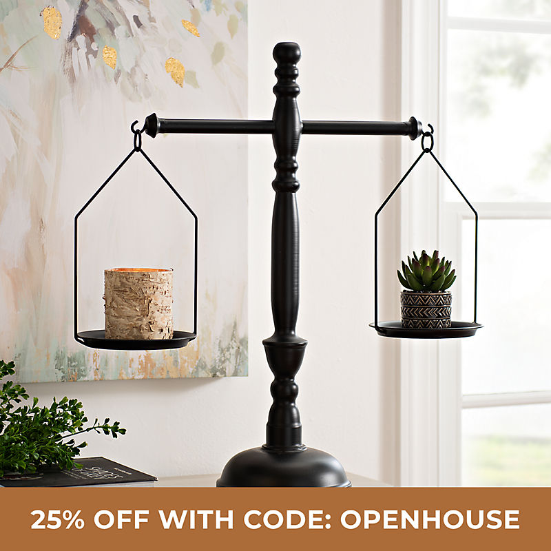 Home Accents 25% Off with Code: OPENHOUSE