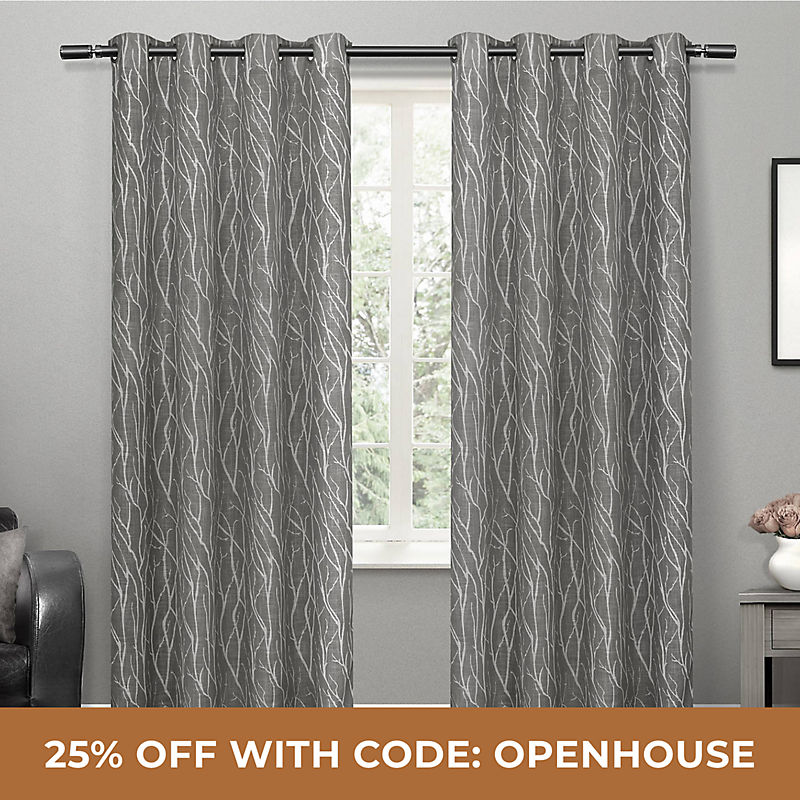 Curtains 25% Off with Code: OPENHOUSE