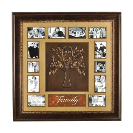 Family Tree Collage Frame, 36x36 | Kirklands