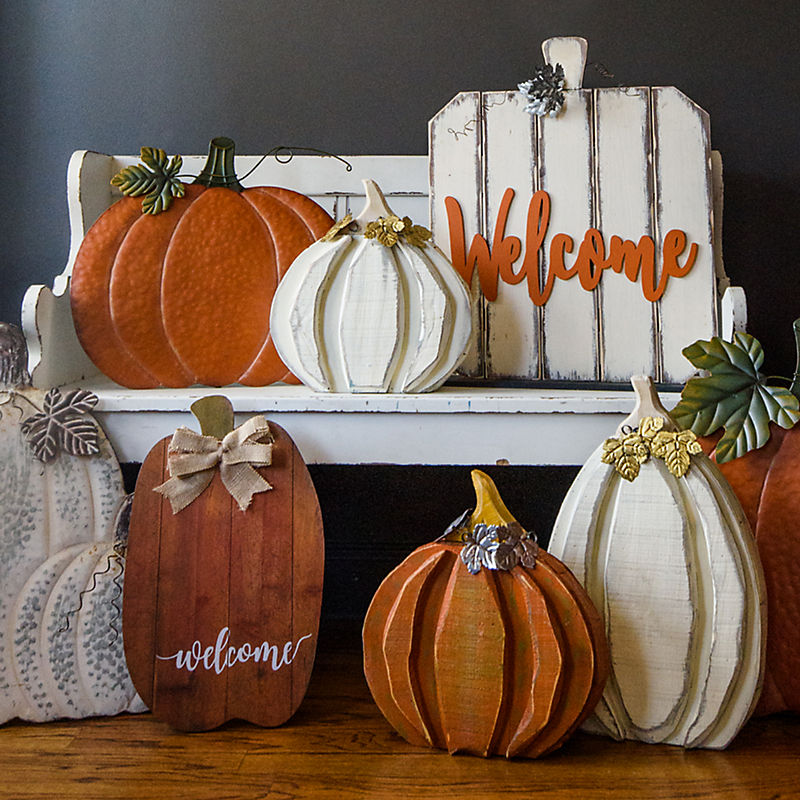 Porch Pumpkins 40% Off with code: STACKNSAVE