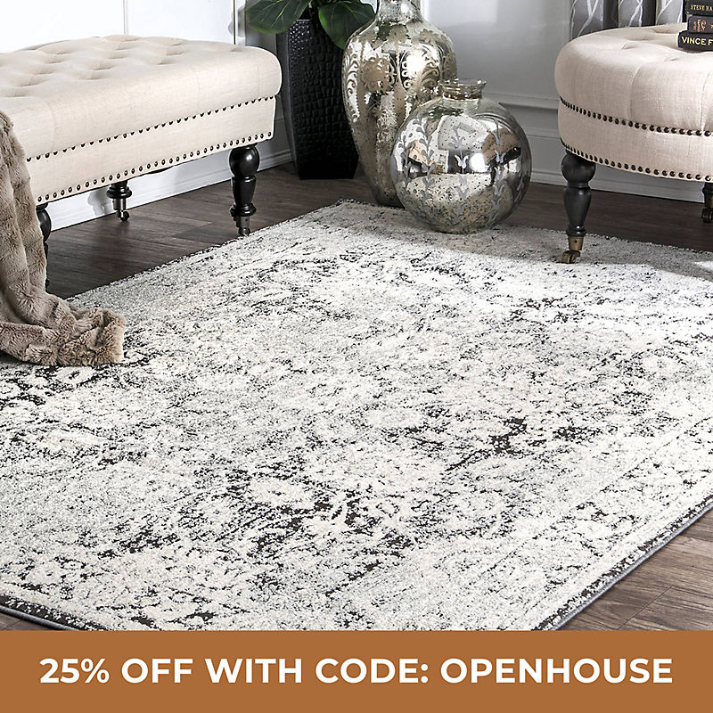 Rugs 25% off with Code: OPENHOUSE