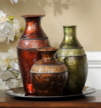 Mosaic Band Vase Set Of 3 Kirklands