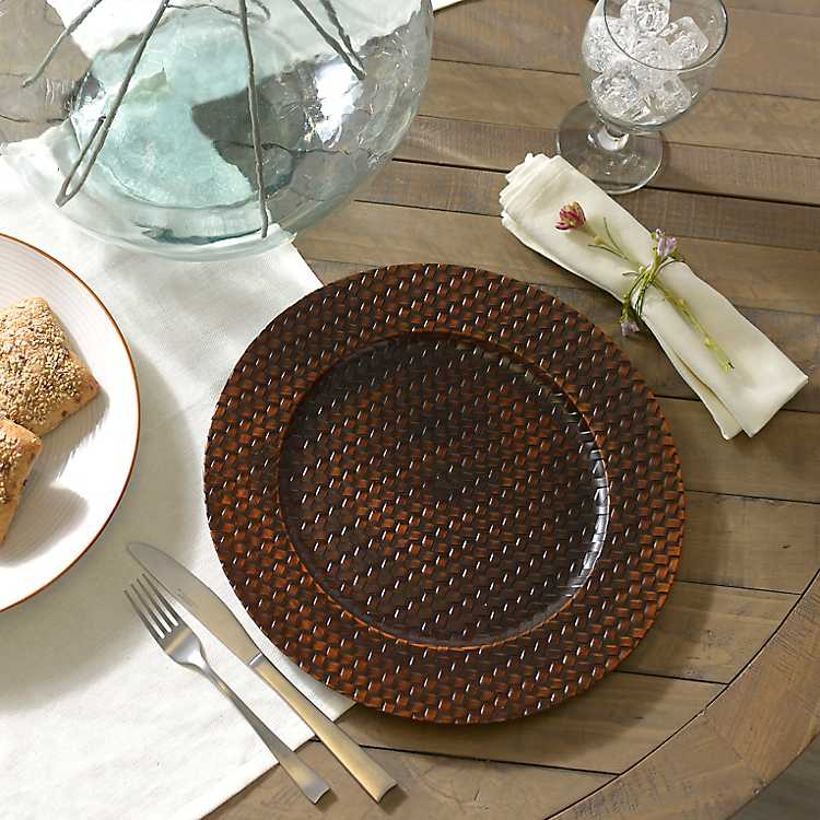 small woven wall hanging woven tray decorative woven wall.htm woven bamboo charger kirklands  woven bamboo charger kirklands