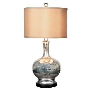 Mercury glass table lamp kirklands aloadofball Image collections