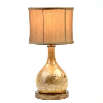 Capiz table lamp kirklands aloadofball Images