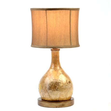 Capiz table lamp kirklands aloadofball Images