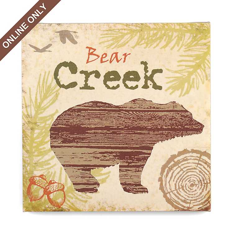 Product Details Bear Creek Canvas Print