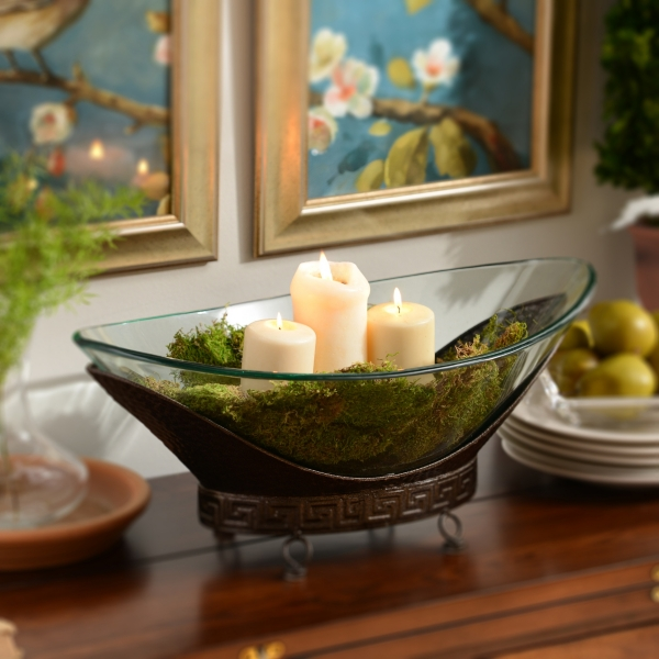 What To Put In Bowls For Decoration Awesome Oversized Bronze Bowl  Kirklands 2018