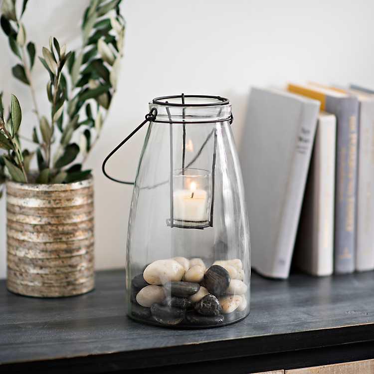 Clear Glass Lantern Kirklands
