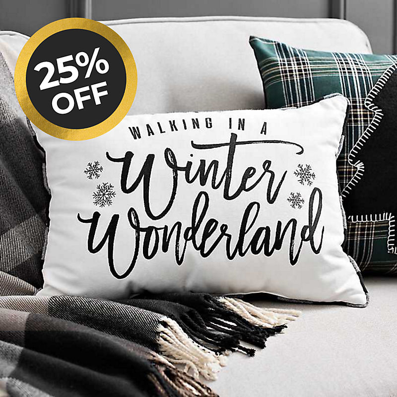Christmas Pillows 25% off Shop Now