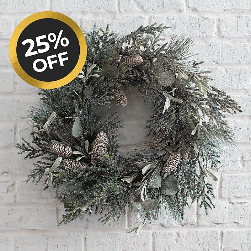 Christmas Wreaths 25% off Shop Now
