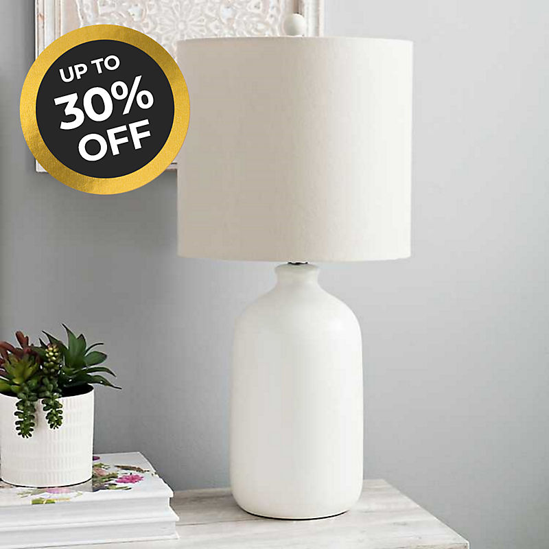 Lamps Up to 30% off Shop Now