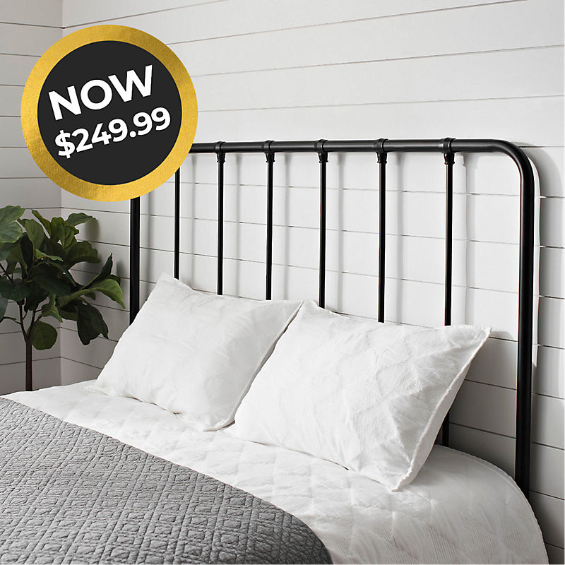 Farmhouse Queen Headboard Now $249.99 Shop Now
