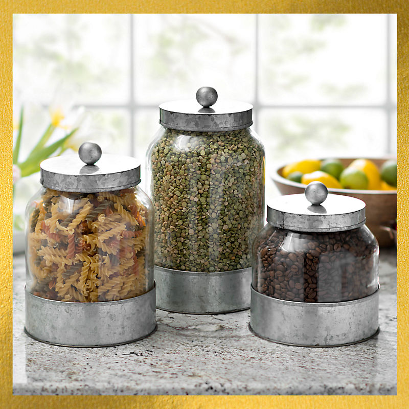 All Kitchen Canisters 40% Off