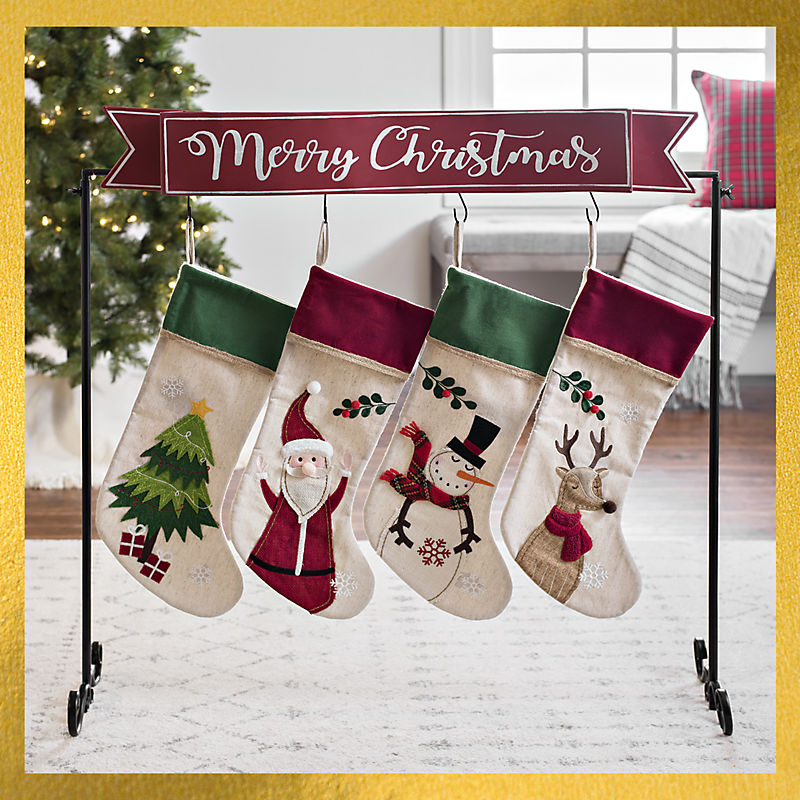 Select Stocking Holders $10 Off