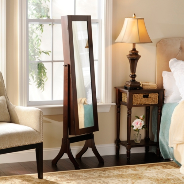 Cheval Jewelry Armoire Mirror Kirklands