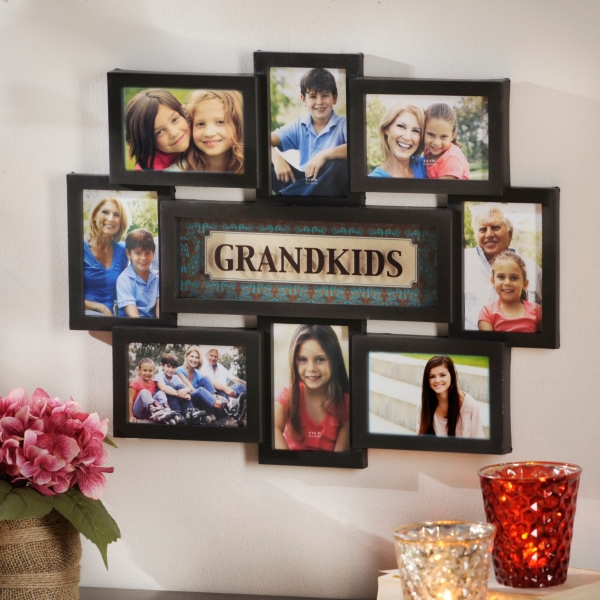 Grandkids Collage Frame   Kirklands