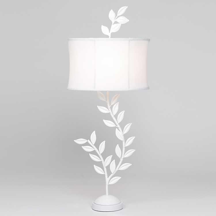 White Tree Branch Table Lamp Kirklands