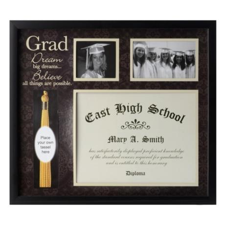 Graduation Tassel & Diploma Collage Frame | Kirklands