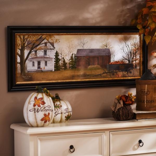 Pumpkins for Sale Framed Art Print | Kirklands