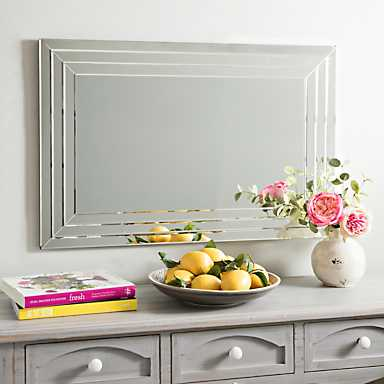 Infinity Frameless Wall Mirror