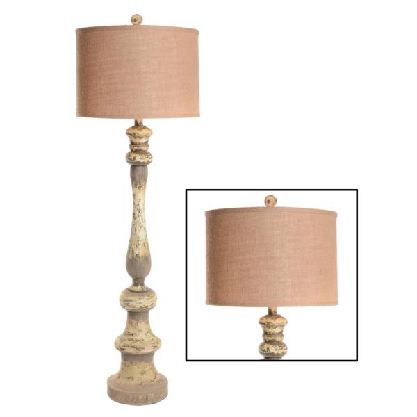 Sonoma Distressed Floor Lamp | Kirklands