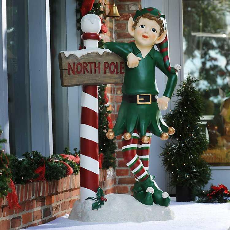 Buddy The North Pole Elf Statue 54 In Kirklands