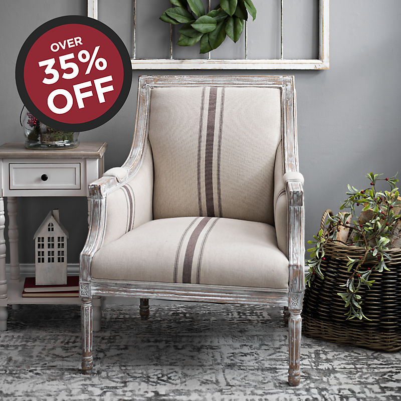 Over 35% off Tan McKenna Chair Now $249.99