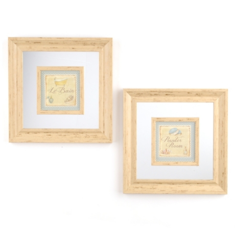 Powder Room Framed Art Prints | Kirklands