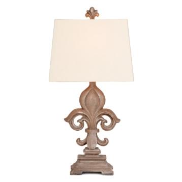 Monticello fleur de lis table lamp kirklands aloadofball Choice Image