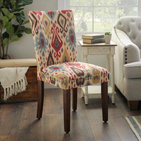 Ikat Parsons Chair