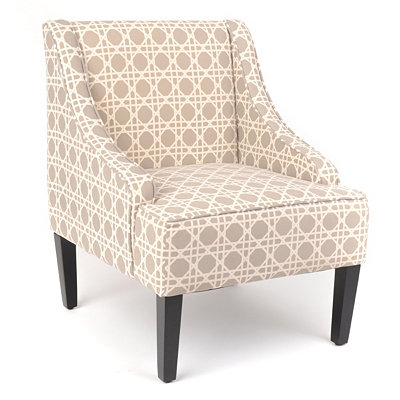 Williamsburg Trellis Print Chair