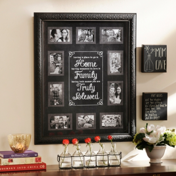 Truly Blessed Black Collage Frame | Kirklands