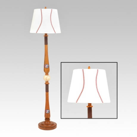 baseball floor lamp kirklands - Baseball Lamp