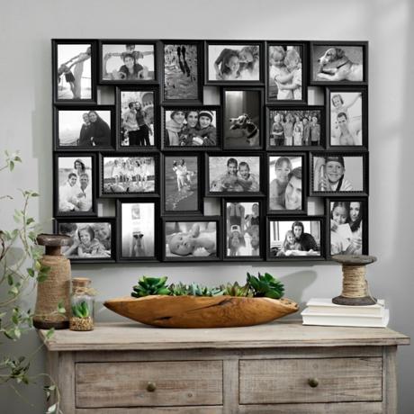 Black 24-Opening Collage Frame | Kirklands