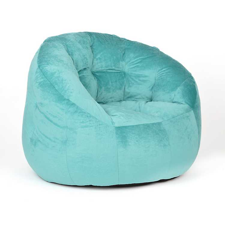 Terrific Turquoise Bean Bag Lounger Caraccident5 Cool Chair Designs And Ideas Caraccident5Info