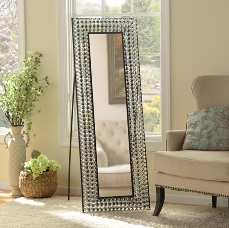 Bling Cheval Floor Mirror | Kirklands