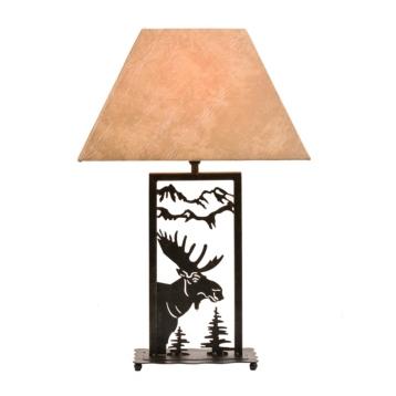 Wild moose table lamp kirklands aloadofball Gallery
