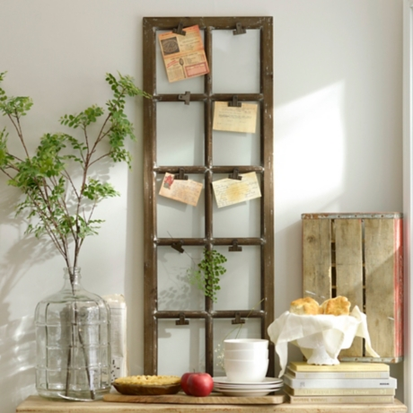 Distressed Window Pane Clip Collage Frame | Kirklands