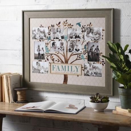 Blue & Brown Family Tree Collage Frame | Kirklands