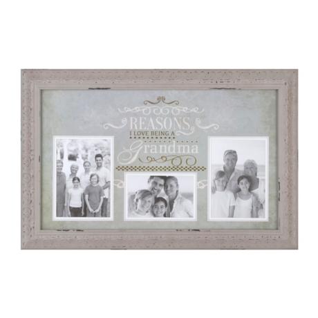 Reasons I Love Being Grandma Collage Frame   Kirklands