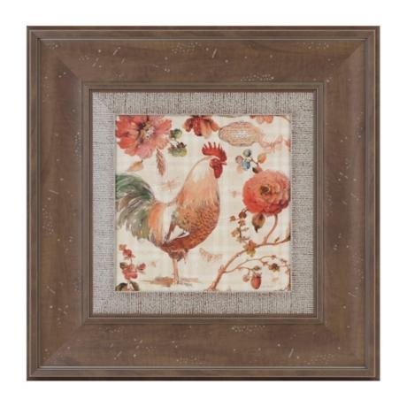 French Rooster I Framed Art Print Kirklands