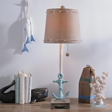 Blue anchor buffet lamp kirklands