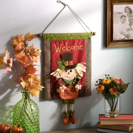welcome fall banner sign kirklands