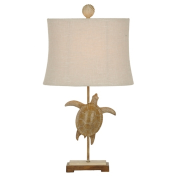 Lakeport sea turtle table lamp kirklands mozeypictures Gallery