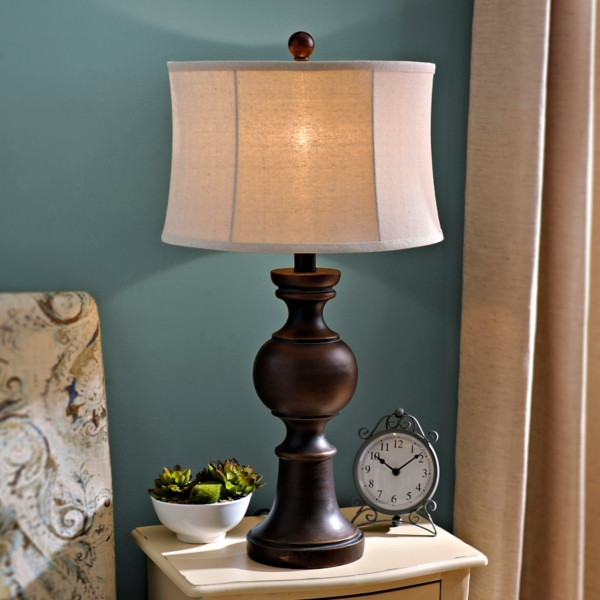 Bronze bailey table lamp kirklands aloadofball Image collections