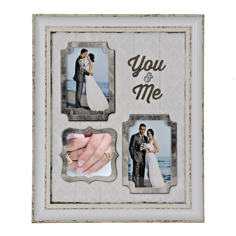 You and Me 3-Opening Collage Frame   Kirklands
